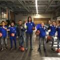 Team FC Streetboys van PEC Zwolle Street League helpt Voedselbank Zwolle
